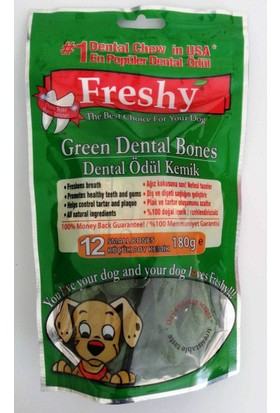 Freshy Dental Ödül Small 12'Li Ağız Kokusuna Son