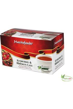 Mecitefendi Kuşburnu & Hibisküs Çayı (Süzen Poşet 20'Li)