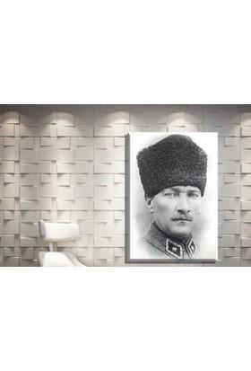 Pia Hediyelik Pia Kanvas Tablo Atatürk Model