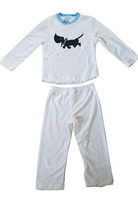 Yorni Pijama Takımı, Krem Köpek
