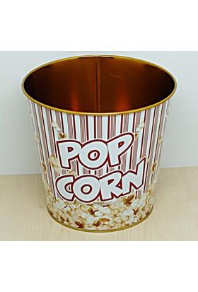 Kitchen Love Metal Popcorn Kovası