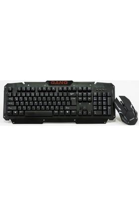 Gang GK07 TR Q 2.4 GHz Kablosuz Klavye Mouse Seti