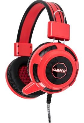 Gang GH-01 Led Işıklı Konforlu Kafa Bandı ve Kulak Yastığı Mikrofonlu Gaming Kulaklık