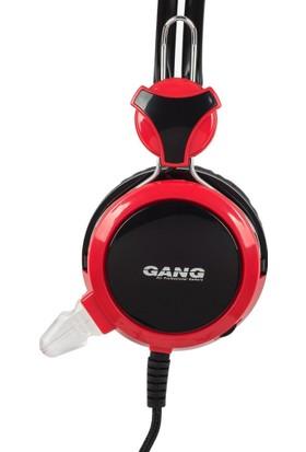 Gang GH-02 Konforlu Kafa Bandı ve Kulak Yastığı Mikrofonlu Oyuncu Kulaklık
