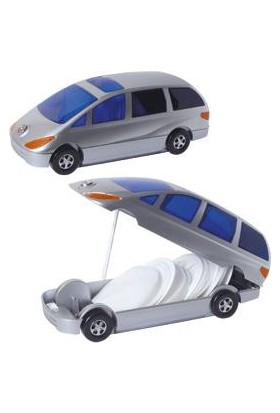 Circledata Cd Kutusu Kilitli 80'li Otomobil Model