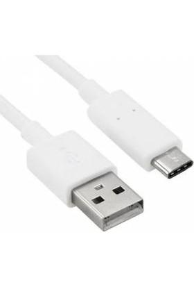 Megatech Bağlantı Kablosu Type-C Beyaz