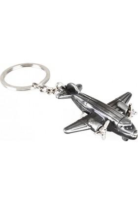 THK Design Pervaneli Uçak Metal Anahtarlık
