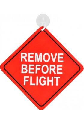 THK Design Araba Levhası Remove Before Flight