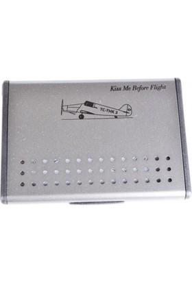 THK Design Kiss Me Before Flight Kartvizitlik