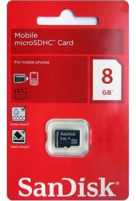 Sandisk 8 GB Hafıza Kartı
