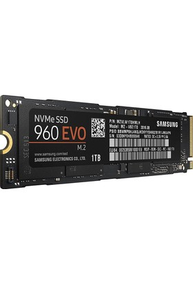 Samsung 960 EVO NVMe 1TB 3200MB-1900MB/s M.2 SSD MZ-V6E1T0BW
