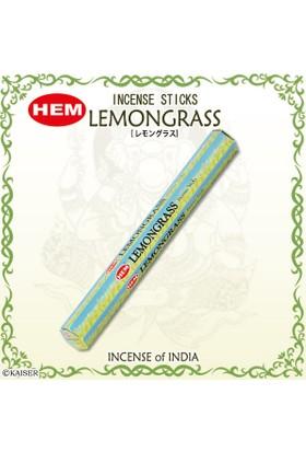 Hem Lemongrass Incense Sticks - Limon Otu Tütsü 20 Adet