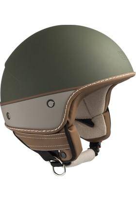 CGM Nairobi Yeşil Açık Motosiklet Kaskı Vizörsüz 104G-FAA-07E XLarge