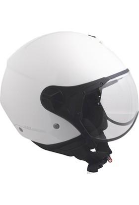 CGM Florence Beyaz Açık Motosiklet Kaskı Kısa Vizör 107A-FSA-14E XLarge