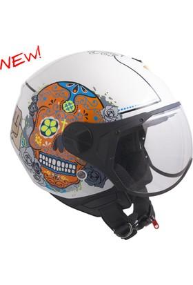 CGM Cancun Açık Motosiklet Kaskı 107S-FSA-14E XLarge
