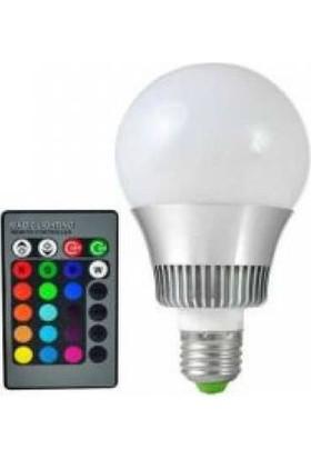 Frc Rgb Led Renk Değiştiren Lamba Ampul Işık