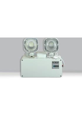 ZBS Elektronik Twinlight Ledli Acil Aydınlatma Armatürü
