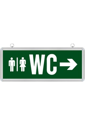 Horoz Elektrik HL 330L Ledli Bay-Bayan WC-Tuvalet Yönlendirme Armatürü