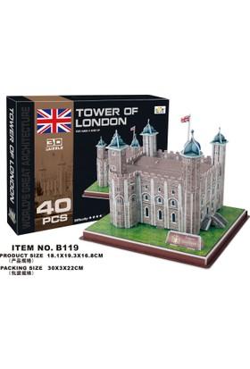 Cc Oyuncak 3D Puzzle Tower Of London - 40 Parça