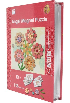 Cc Oyuncak Angel Magnetic Kitap