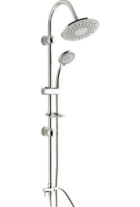 Aquamix Paris Şemsiye Duş Takımı
