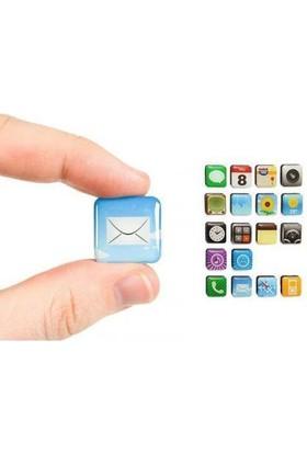 Anka İphone Teması Buzdolabı Magnetleri (18 Parça)