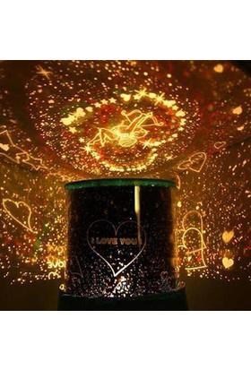 Anka Kalp Projeksiyonlu Gece Lambası Star Lover