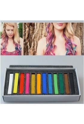 Anka Magic Hair Saç Tebeşiri 12 Renk