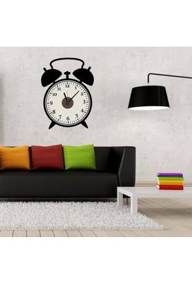 Anka Retro Saat Tasarımlı Duvara Yapışan Saat