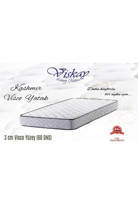 Viskay Kaşmir Visco Ortopedik Yatak 3 cm