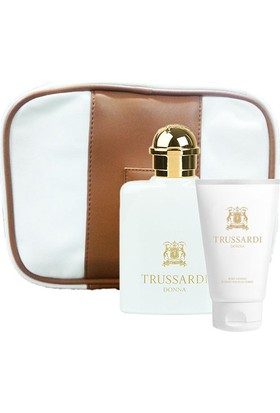 Trussardi Donna Greyhound Beauty Set (Edp 100Ml + Body Lotıon 100Ml + Beauty Bag)