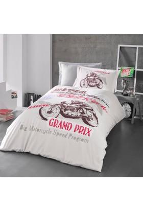 Luoca Patisca Maxiforce Genç Uyku Seti Motorace Bej