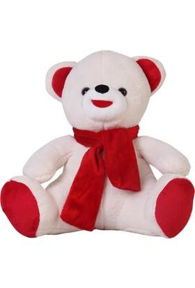 Karabeyoğulları Sevgiliye ve Çocuklara Özel Beyaz Peluş Ayıcık 50 cm