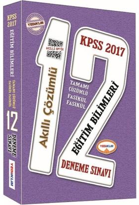Yediiklim Yayınları Kpss 2017 Eğitim Bilimleri Tamamı Çözümlü 12'Li Çözümlü Deneme Sınavı