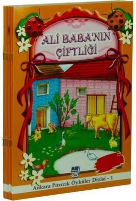 Pıtırcık Öyküler Dizisi Renkli Resimli 8 Kitap Set
