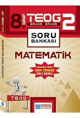 Evrensel İletişim Yayınları 8.Sınıf Teog 2 Matematik Soru Bankası