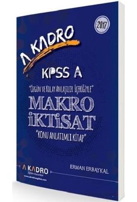 A Kadro Kpss A Makro İktisat Konu Anlatımlı Kitap - Erman Erbaykal