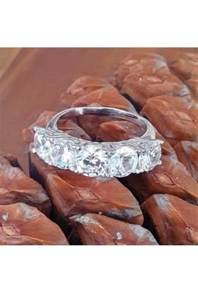Bella Gloria Beştaş Gümüş Alyans (Ga00094) 20
