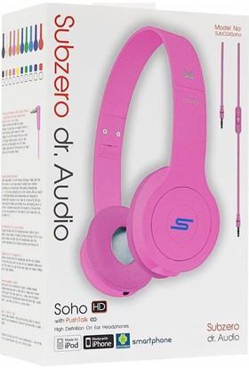 Subzero Soho Dr. Audio Mikrofonlu Kulaklık Pembe