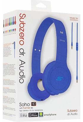 Subzero Soho Dr. Audio Mikrofonlu Kulaklık Mavi