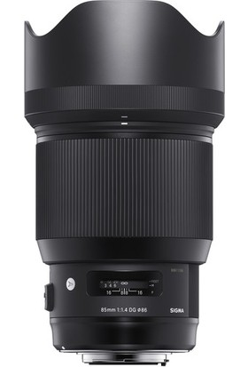 Sigma 85mm F1.4 Dg Hsm ART Nikon Uyumlu Objektif 321955