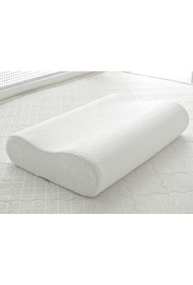 Ase Visco Ortopedik Boyun Yastığı %100 Visko Büyük Boy 60 x 40 cm