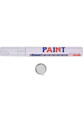 Sipa 6'lı Paket Beyaz Rötüş Ve Derz Boyama Kalemi 010175