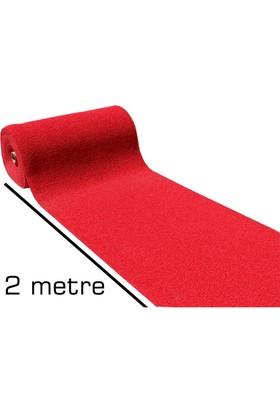 Homecare 2 Metre Kırmızı Kıvırcık Paspas 1 Mt Genişlik 091010