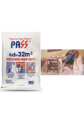Pass 6'lı Paket Koruyucu Hışır Örtü 32 M2 091627