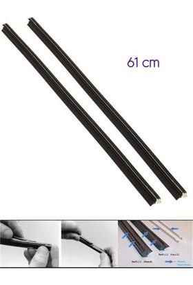 Modacar 6'lı Paket 61 Cm Telli Silecek Lastiği 2 Adet 998834