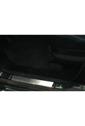 Spider Fiat Doblo 1 Kapı Eşiği 2 Parça Paslanmaz Çelik 2000-2010 Modeller