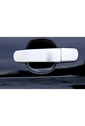 Spider Ford Custom Kapı Kolu 3 Kapı Set 7 Parça Paslanmaz Çelik 2013 Üzeri Modeller