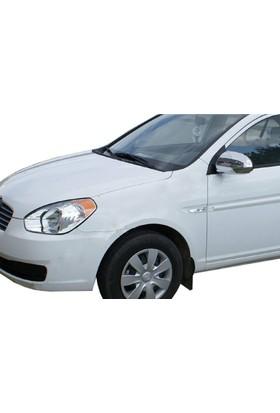 Spider Hyundai Accent Era Mc Ayna Kapağı 2 Parça Abs Krom 2006-2011 Modeller