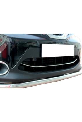 Spider Nissan New Qashqai J11 Ön Tampon Çıtası Paslanmaz Çelik 2014 Üzeri Modeller